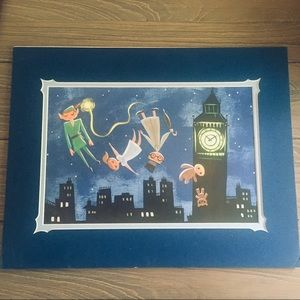 🧚🏻Disney Peter Pan & Friends Wall Art Print